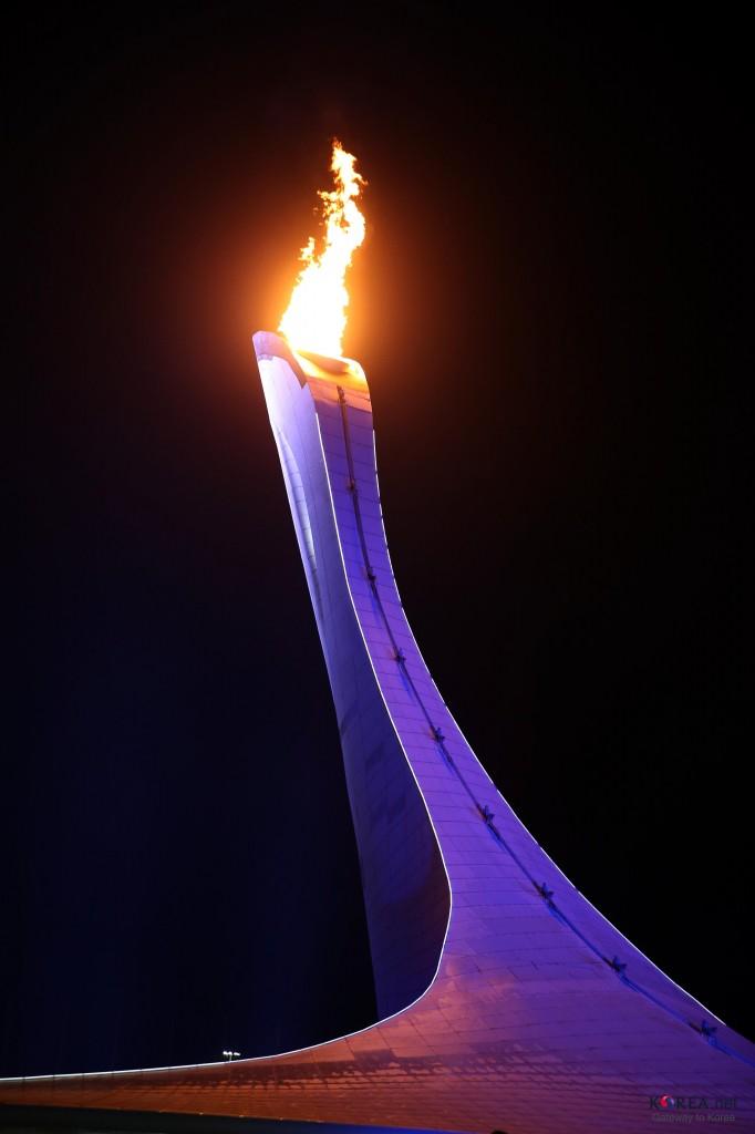 Den olympiske ilden skal være et bilde på noe vedvarende humanitært og vakkert. Etter Sochi er det vanskelig å holde den tent i sin rettmessige forstand. Foto: KOREA.NET/Flickr Creative Commons.