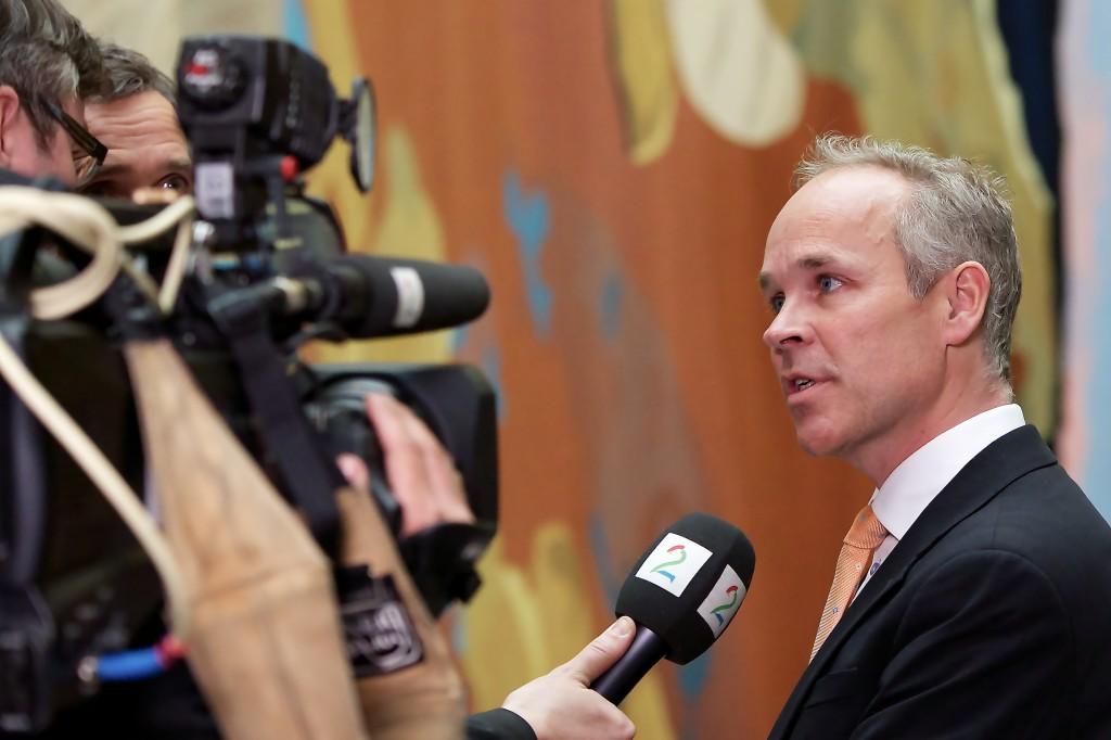 Kommunal og moderniseringsminister Jan Tore Sanner vil endre kommunestrukturen i Norge. Foto: Hans Kristian Thorbjørnsen /Flickr