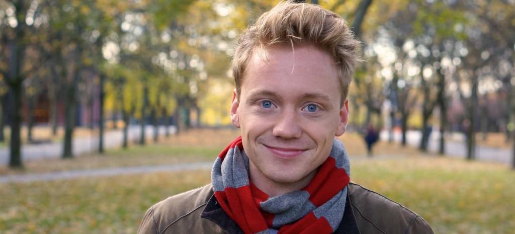 Hans Christian Paulsen, leder i studentutvalget ved det Samfunnsvitenskapelige Fakultet. Foto: Cassandra Opsvik Ferreita