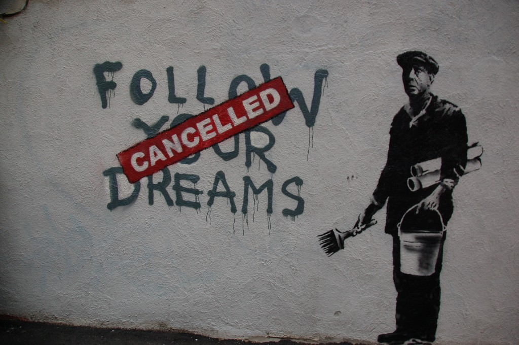 Kanskje er det vanskelig med et felles prosjekt for ungdommen i dag? Foto: Chris Devers/Creative Commons