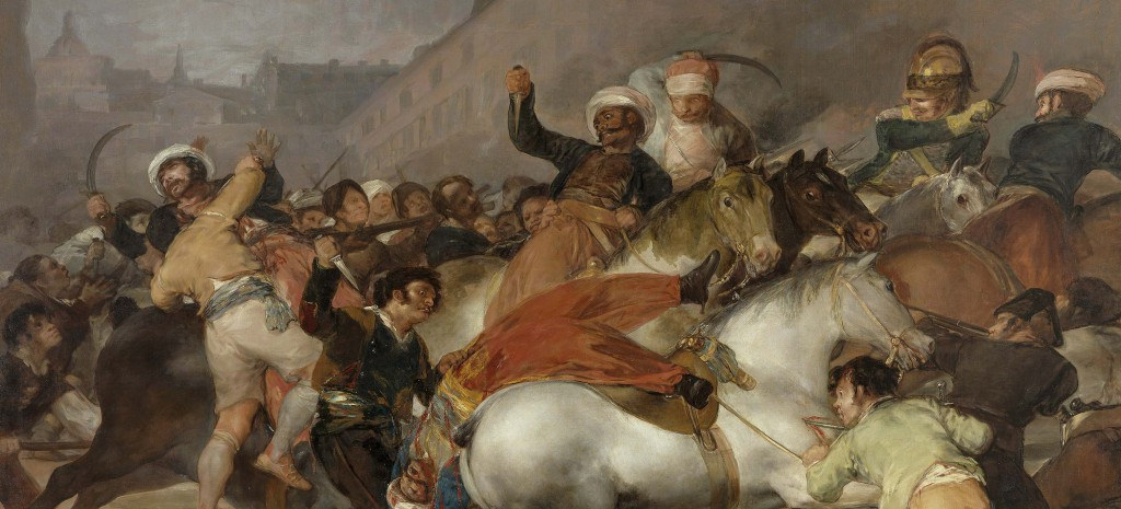 """The Charge of the Mamelukes"" av Fransisco Goya"